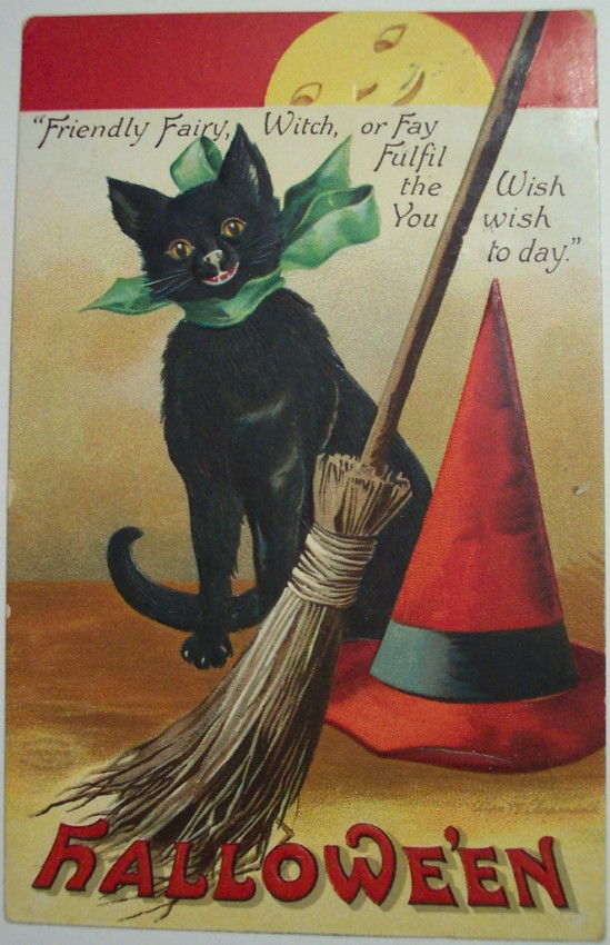 Postales Halloween vintage 057