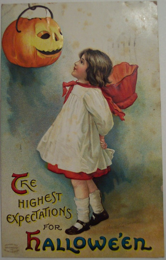 Postales Halloween vintage 059
