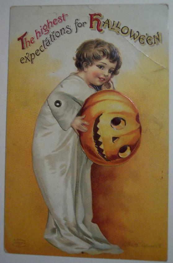 Postales Halloween vintage 061