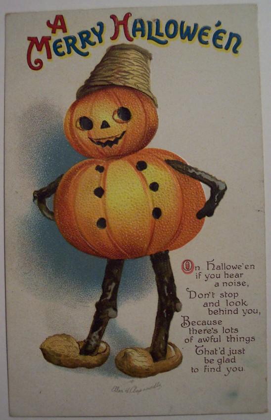 Postales Halloween vintage 064