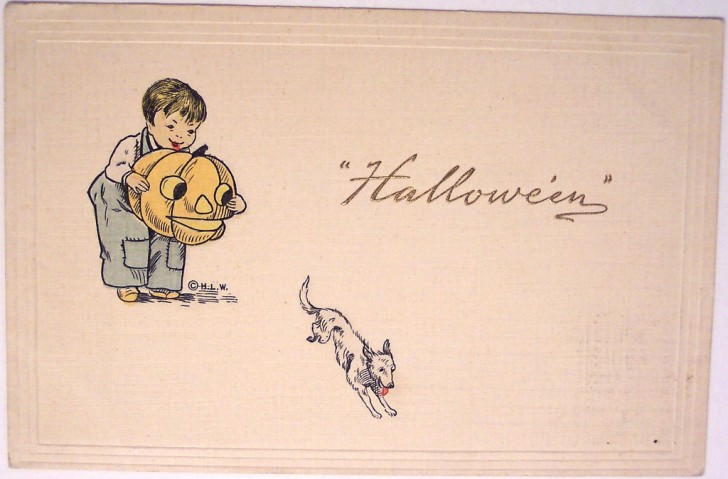 Postales Halloween vintage 065