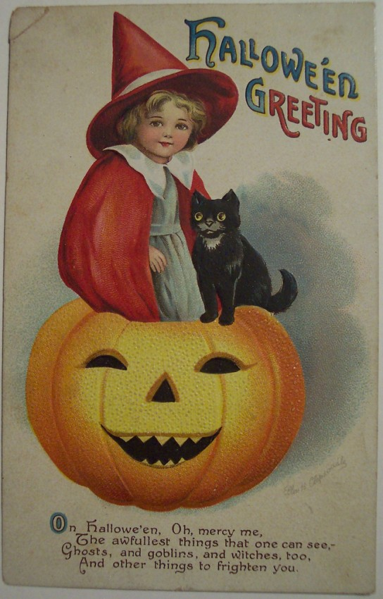 Postales Halloween vintage 066