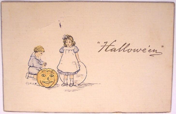 Postales Halloween vintage 067
