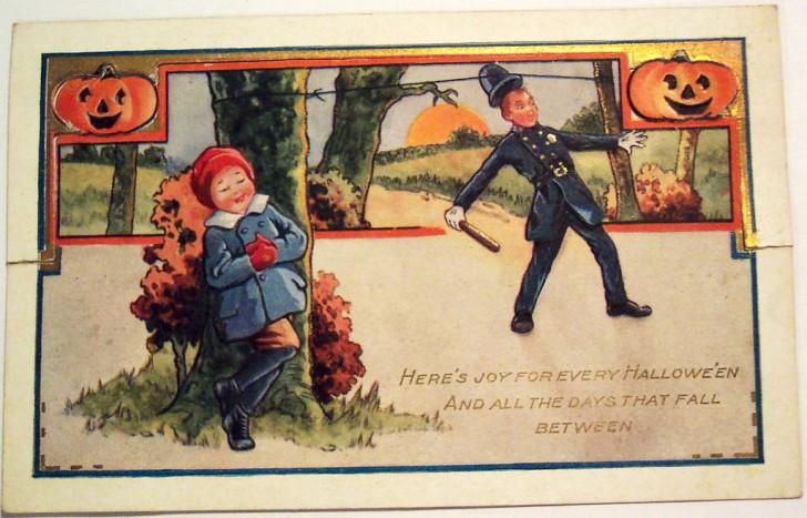 Postales Halloween vintage 068