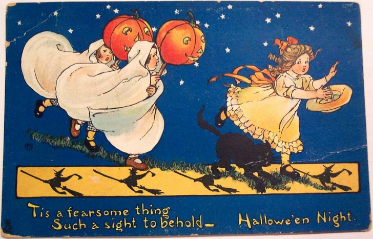 Postales Halloween vintage 071