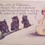 Postales de Halloween retro
