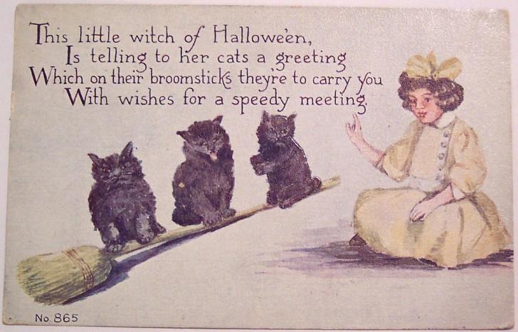 Postales Halloween vintage 072