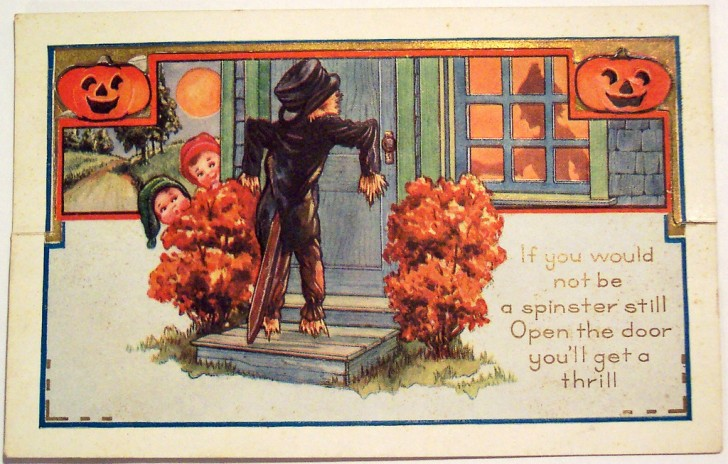Postales Halloween vintage 073