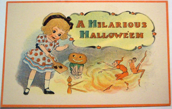 Postales Halloween vintage 076