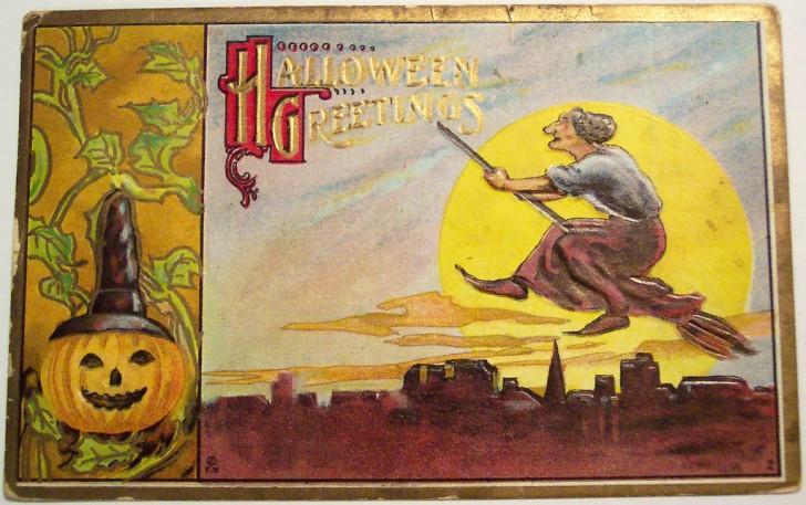 Postales Halloween vintage 077