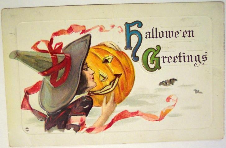 Postales Halloween vintage 078