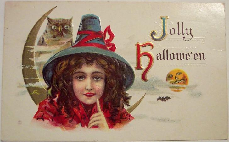 Postales Halloween vintage 079