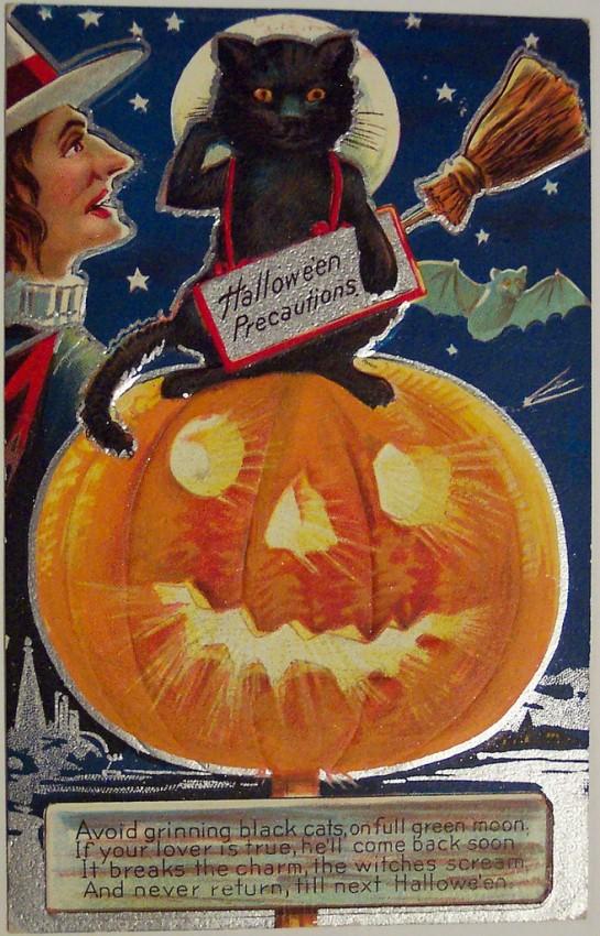 Postales Halloween vintage 081