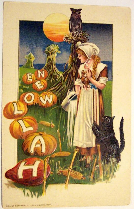 Postales Halloween vintage 083
