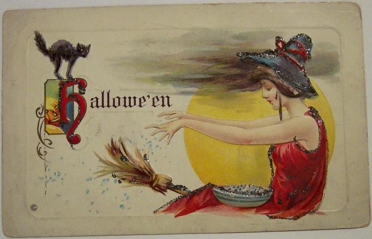 Postales Halloween vintage 085
