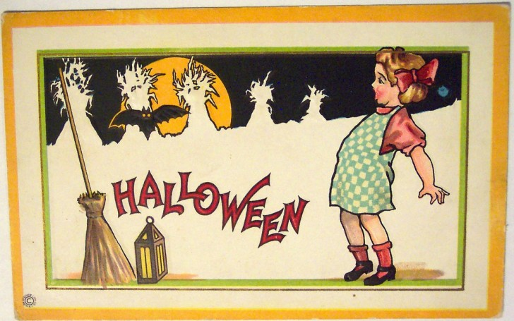 Postales Halloween vintage 087