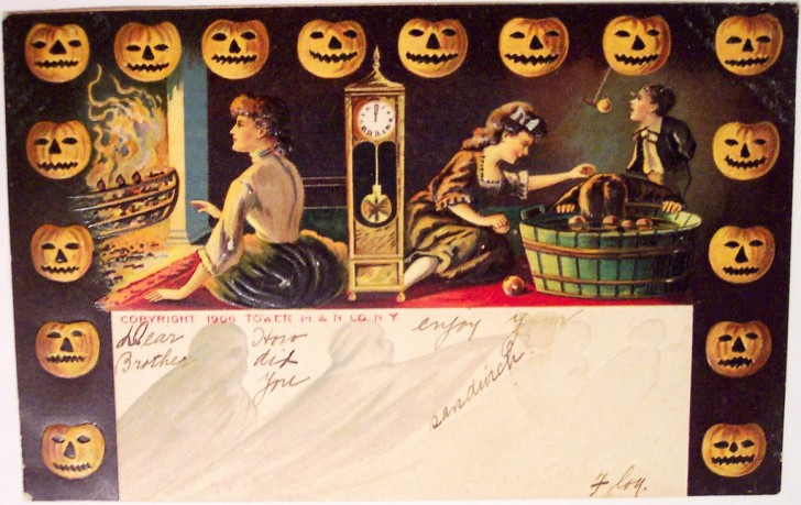 Postales Halloween vintage 088
