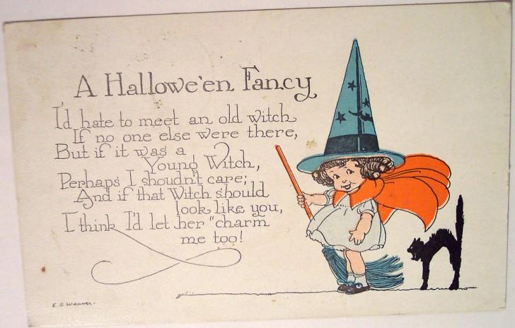Postales Halloween vintage 091