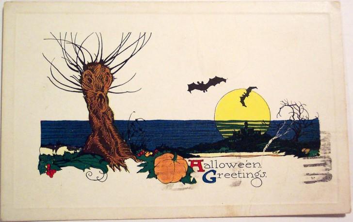 Postales Halloween vintage 092