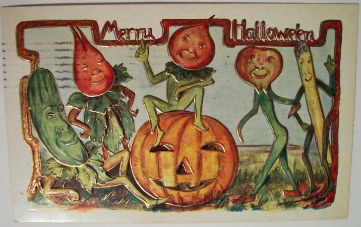 Postales Halloween vintage 093