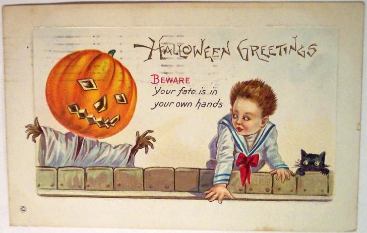Postales Halloween vintage 094