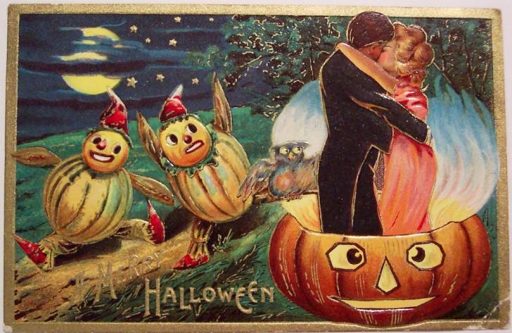 Postales Halloween vintage 095