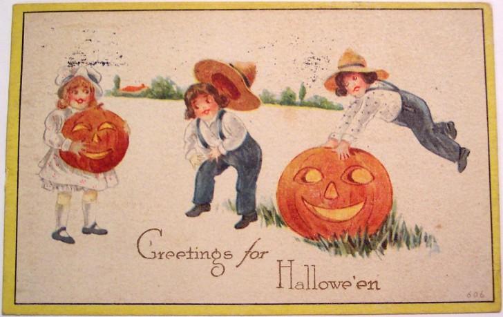 Postales Halloween vintage 097