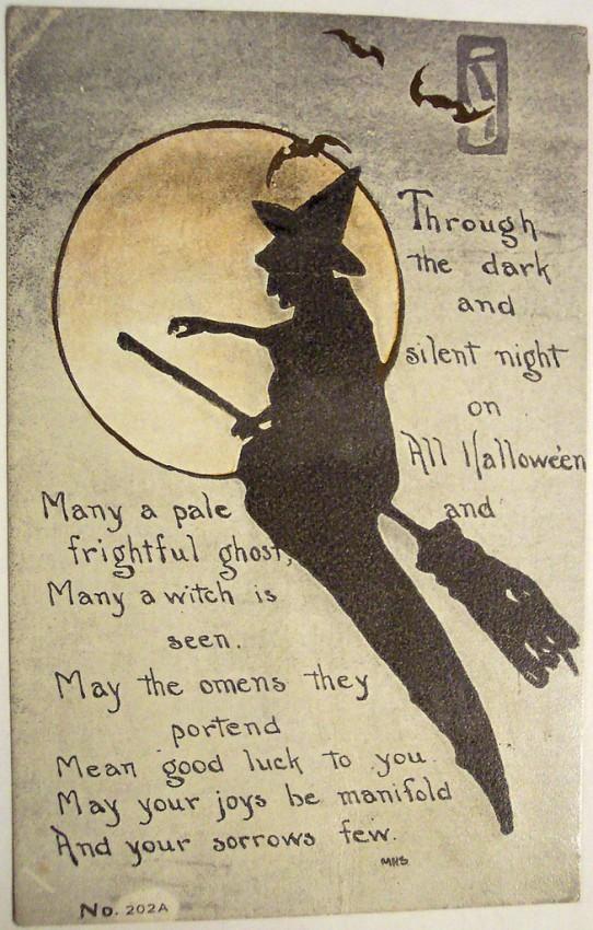 Postales Halloween vintage 100