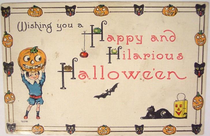 Postales Halloween vintage 101
