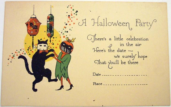 Postales Halloween vintage 102