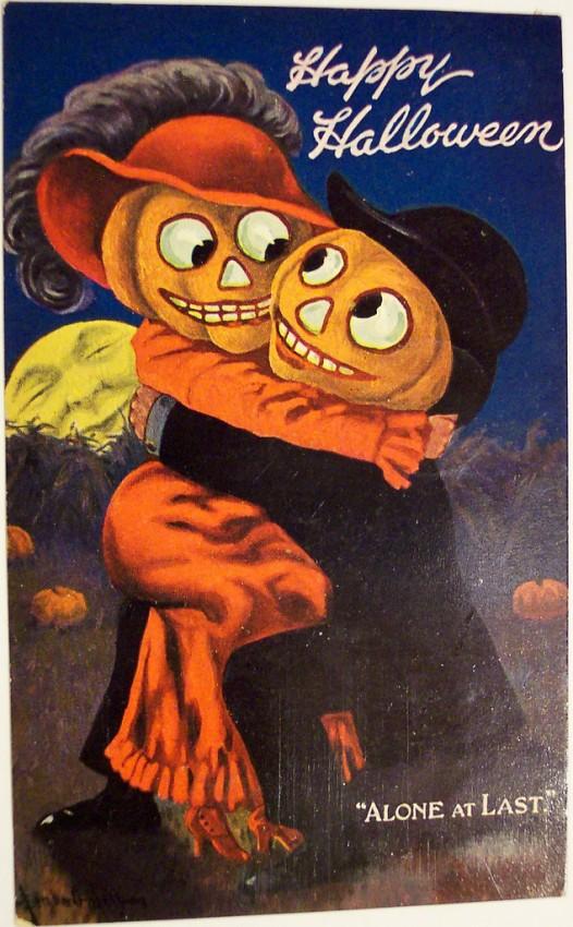 Postales Halloween vintage 103