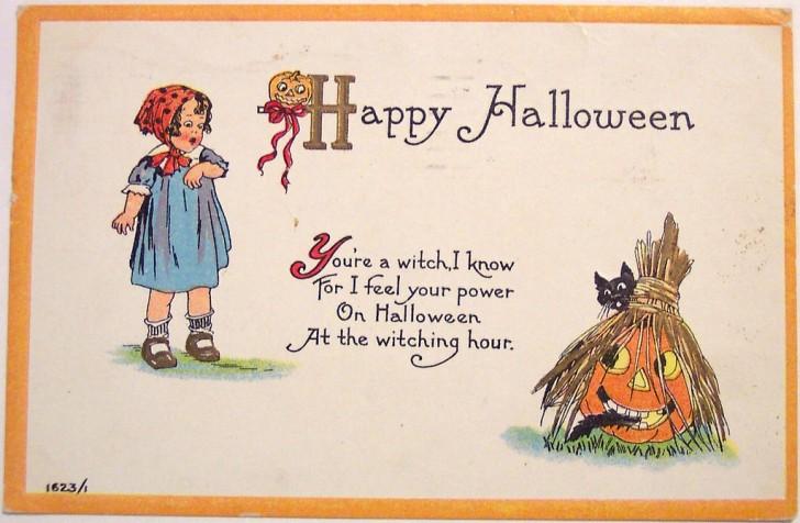 Postales Halloween vintage 104