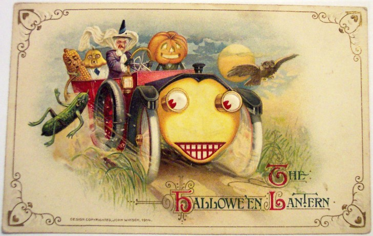 Postales Halloween vintage 105