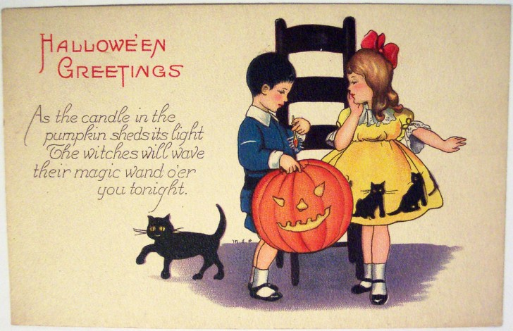 Postales Halloween vintage 107