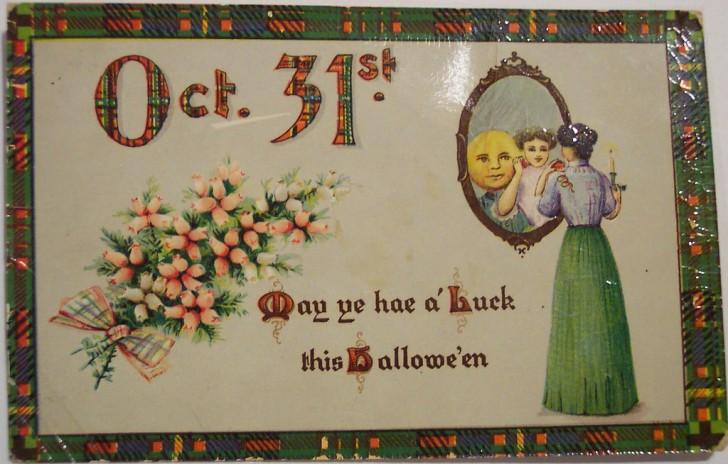 Postales Halloween vintage 108