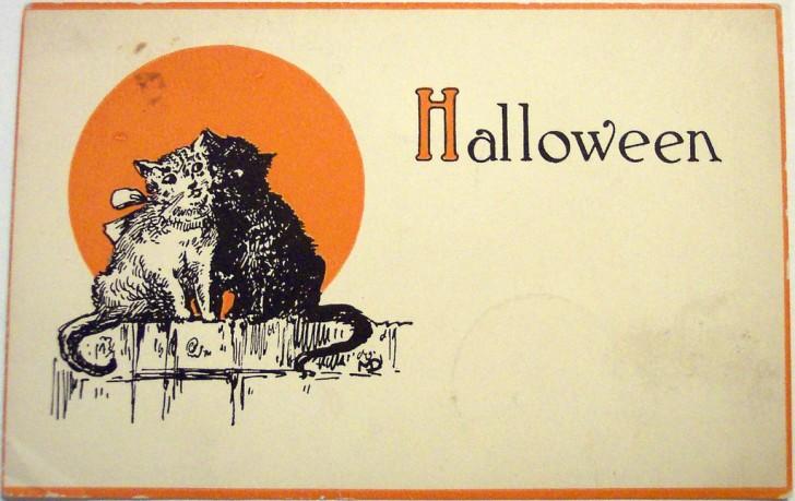 Postales Halloween vintage 109