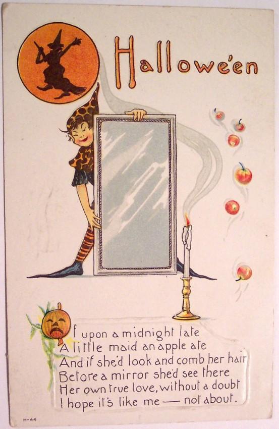 Postales Halloween vintage 110