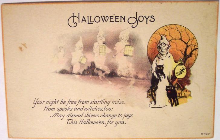 Postales Halloween vintage 111