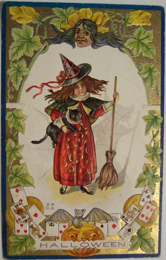 Postales Halloween vintage 112