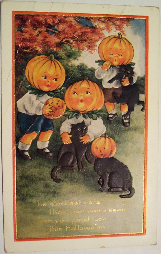 Postales Halloween vintage 113