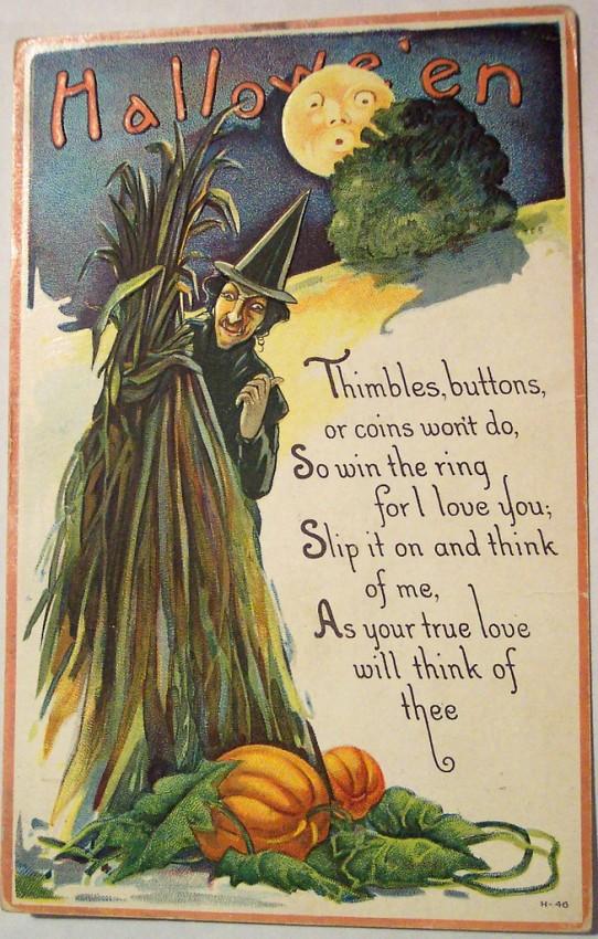 Postales Halloween vintage 114