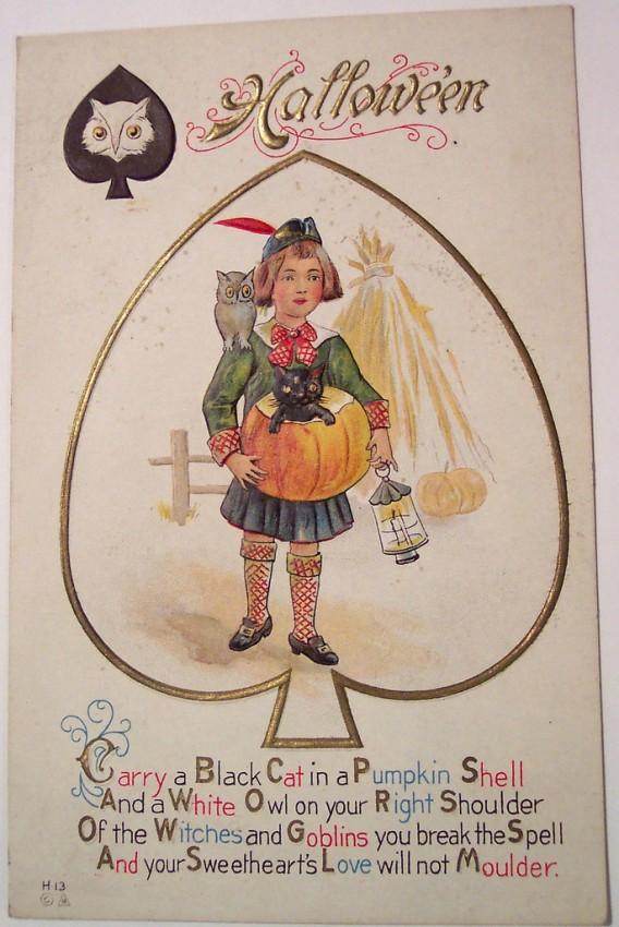 Postales Halloween vintage 116