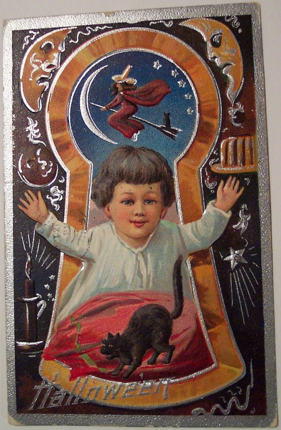Postales Halloween vintage 117