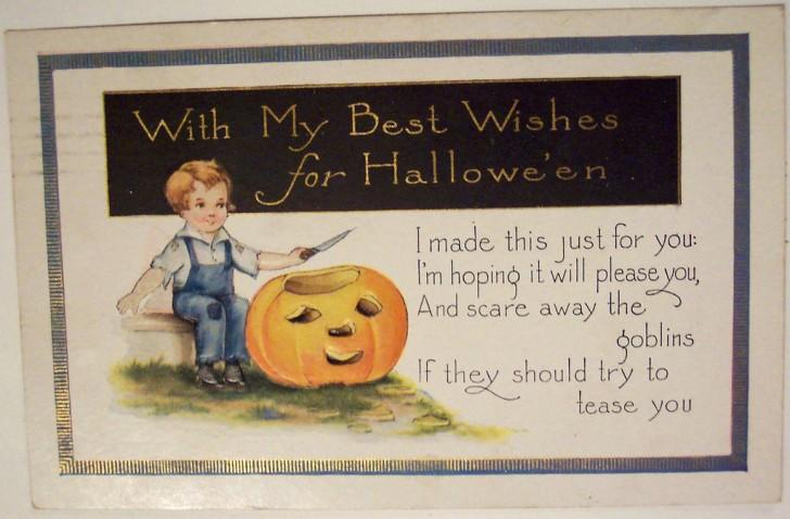 Postales Halloween vintage 120