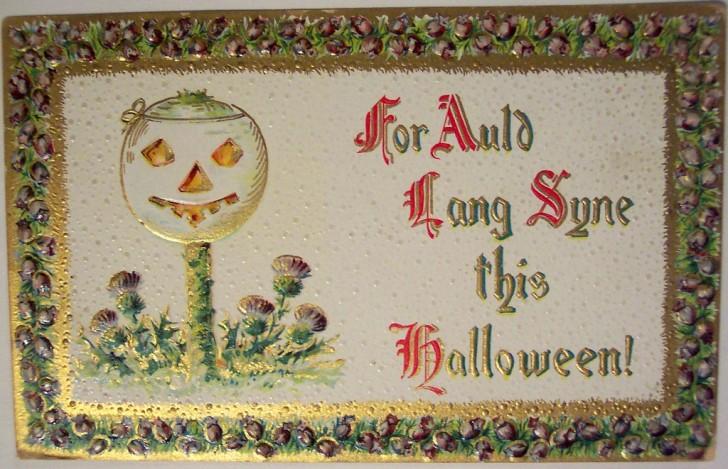 Postales Halloween vintage 122