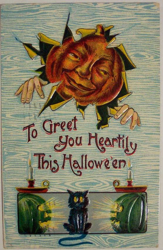 Postales Halloween vintage 125