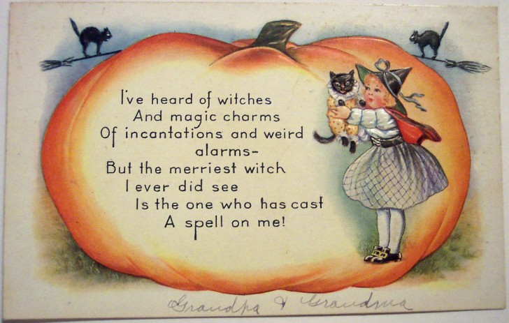 Postales Halloween vintage 126