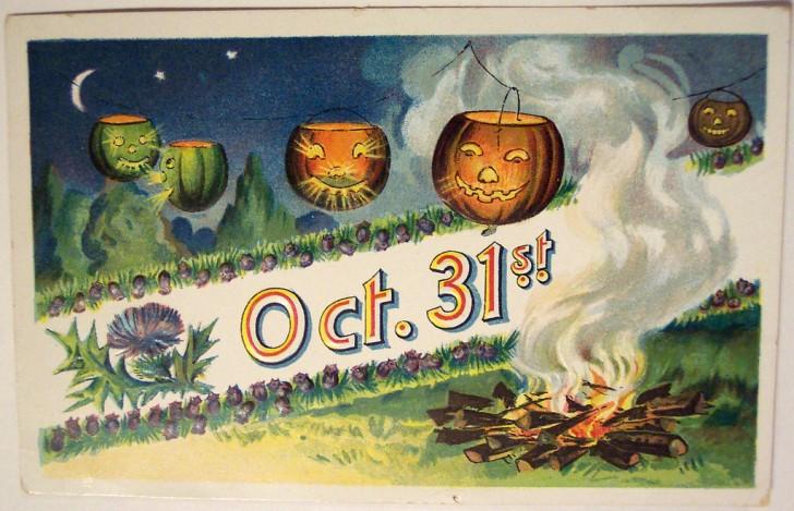 Postales Halloween vintage 127