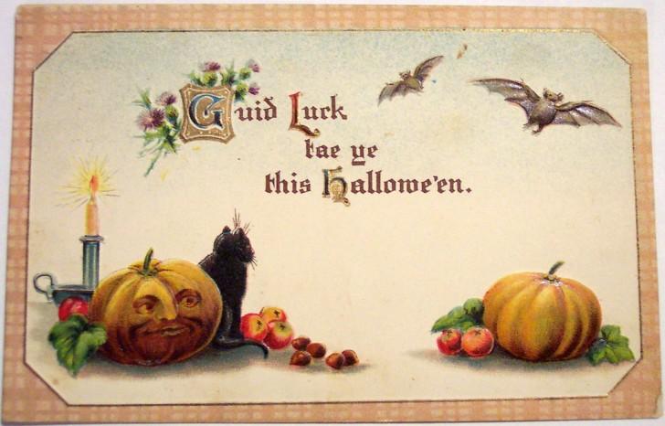 Postales Halloween vintage 129