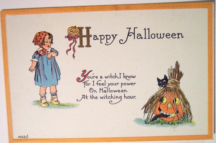 Postales Halloween vintage 132